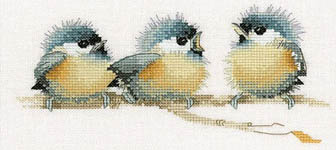 Click for more details of Sitting Pretty (cross-stitch) by Valerie Pfeiffer