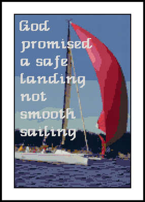 Click for more details of Smooth Sailing Sampler (cross-stitch pattern) by Mary Gaines