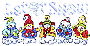 Click for more details of Snow Babies (cross-stitch pattern) by Imaginating
