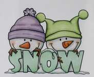 Click for more details of Snow Cute (stamps) by Crafter's Companion