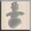 Click for more details of Snowman (beads and sequins) by Mill Hill