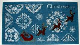 Click for more details of Snowy Christmas Quaker Style (cross stitch) by AuryTM