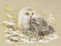 Click for more details of Snowy Owl (cross-stitch kit) by Riolis