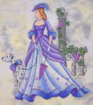 Click for more details of Southern Promenade (cross-stitch pattern) by Cross Stitching Art