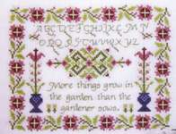 Click for more details of Spanish Proverb (cross-stitch) by Rosewood Manor