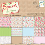 Click for more details of Special Delivery 12 x 12 Paper Pack - Special Delivery (paper) by Helz Cuppleditch