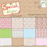 Click for more details of Special Delivery 8 x 8 Paper Pack - Special Delivery (paper) by Helz Cuppleditch