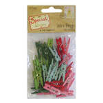 Click for more details of Special Delivery Mini Pegs x 35 (embellishments) by Helz Cuppleditch