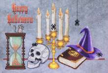 Click for more details of Spell Bound (cross stitch) by Glendon Place