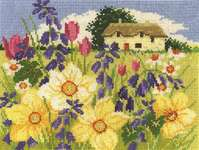Click for more details of Spring Bloom (cross stitch) by DMC Creative