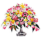 Spring Bouquet - cross-stitch kit by Thea Gouverneur