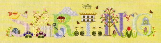Click for more details of Spring (cross-stitch pattern) by The Cross-Eyed Cricket