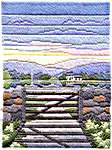 Click for more details of Spring Evening (long-stitch) by Rose Swalwell