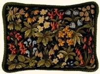 Click for more details of Spring Flower Cushion Front (tapestry) by Eva Rosenstand