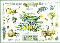 Click for more details of Spring in the Garden Sampler (cross-stitch kit) by Marjolein Bastin