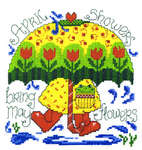 Click for more details of Spring Showers (cross stitch) by Imaginating