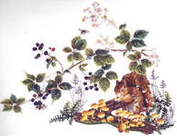 Click for more details of Squirrel (cross-stitch) by Thea Gouverneur