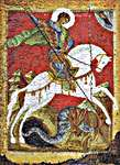 Click for more details of St George (cross-stitch) by Thea Gouverneur