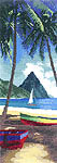 Click for more details of St. Lucia (cross-stitch kit) by John Clayton