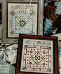 Click for more details of Star Centre Quilt (cross stitch) by Jeannette Douglas
