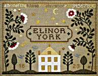 Click for more details of Starry Night Sampler (cross-stitch pattern) by The City Stitcher
