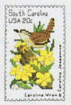 Click for more details of State Bird and Flower Stamps Book 2 : The South (cross-stitch pattern) by Heritage Series
