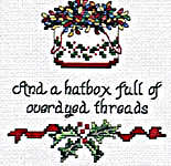 Click for more details of Stitcher's Days of Christmas (cross-stitch pattern) by Sue Hillis Designs