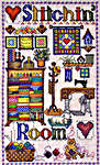 Click for more details of Stitchin' Room (cross-stitch pattern) by Cross-Point Designs