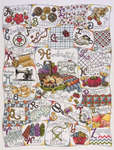 Click for more details of Stitching ABC (cross-stitch kit) by Design Works