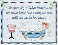 Click for more details of Strong Women (cross-stitch pattern) by Sue Hillis Designs