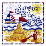 Click for more details of Summer Breeze (cross-stitch kit) by Cinnamon Cat