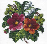 Click for more details of Summer Flowers (cross-stitch) by Eva Rosenstand