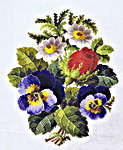 Click for more details of Summer Flowers (cross-stitch kit) by Permin of Copenhagen