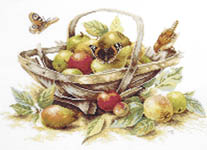 Click for more details of Summer Fruit (cross-stitch kit) by Marjolein Bastin