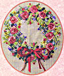 Click for more details of Summer Splendor Wreath (cross stitch) by Cross-Point Designs