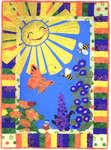 Click for more details of Sun Shinny Day (patchwork and quilting) by More the Merrier Design