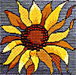Click for more details of Sunflower (tapestry kit) by Rose Swalwell