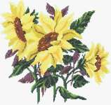Click for more details of Sunflower Three (cross stitch) by Imaginating