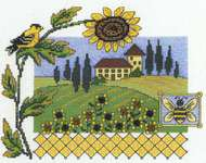 Click for more details of Sunflower Way (cross-stitch pattern) by Imaginating