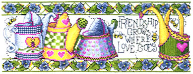 Click for more details of Sunny Side Up (cross-stitch) by Stoney Creek