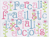 Click for more details of Super- docious (cross-stitch pattern) by Sue Hillis Designs