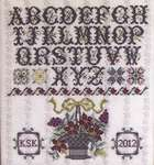 Click for more details of Surrey House Sampler (cross-stitch pattern) by Rosewood Manor