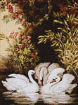 Click for more details of Swan Lake (tapestry kit) by Rico Design