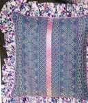 Click for more details of Swedish Weaving Pillows (swedish weaving pattern) by In a Gentle Fashion