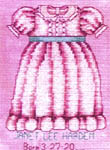 Click for more details of Sweet Baby Girl (cross-stitch pattern) by Bobbie G. Designs
