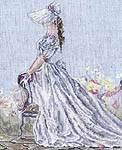 Click for more details of Sweet Blue (cross-stitch pattern) by Pegasus