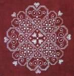 Click for more details of Sweet Hearts (cross stitch) by Northern Expressions Needlework