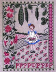 Click for more details of Sweet Pea Sampler (cross-stitch pattern) by The Needle's Notion