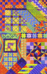 Click for more details of Tahiti (tapestry) by Needle Delights Originals