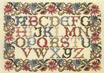 Click for more details of Tapestry Sampler (cross-stitch pattern) by Pat Rogers